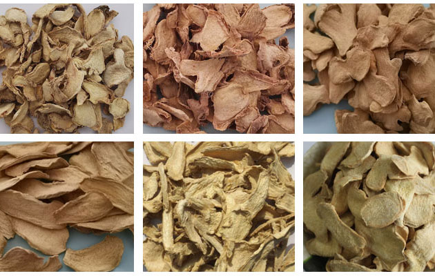 dried ginger chips