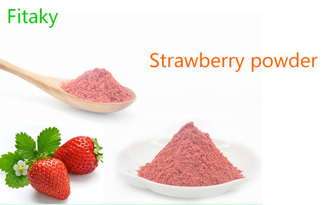 100% Natural Dried Strawberry Powder Factory Price