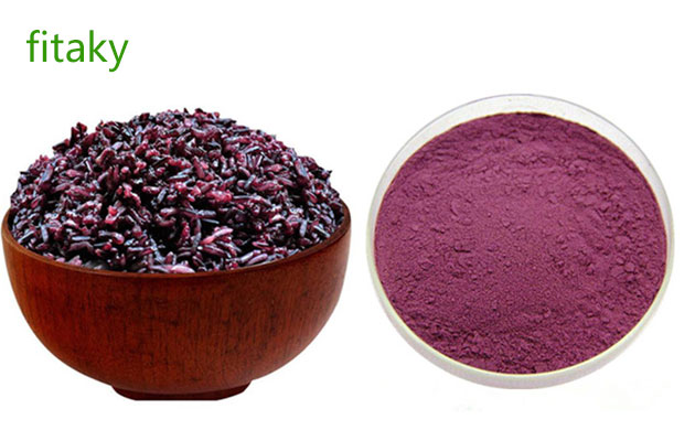 Natural Purple Rice Powder Factory Price