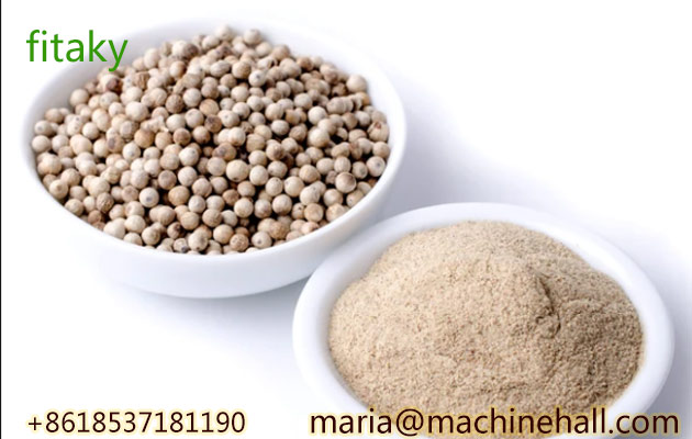 Organic White Pepper Powder Bulk Sale