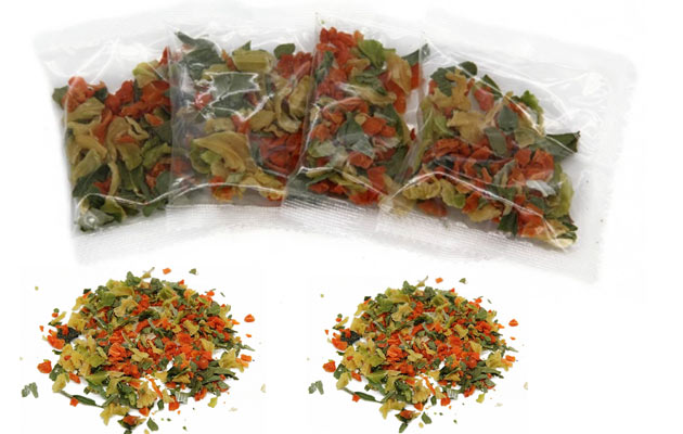 Nutritional Dried Vegetable Sachet Sale