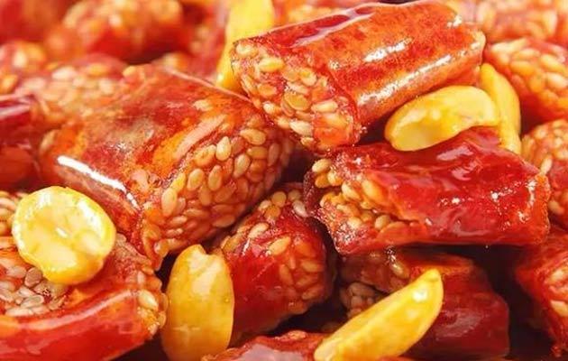 Fried Chilli Crispy Snacks Hot Sale
