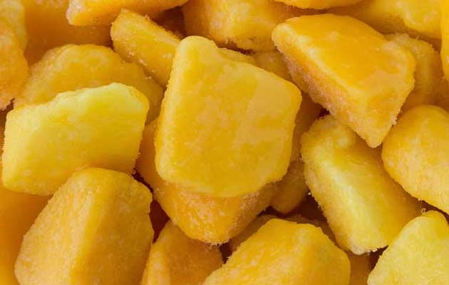IQF Frozen Mango Diced Product Wholesale